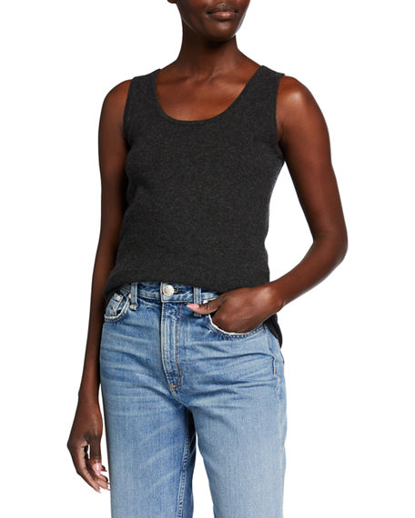 TSE for Neiman Marcus Solid Cashmere Tank