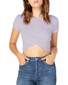 Beyond Yoga Don't Get It Twisted Reversible Cropped