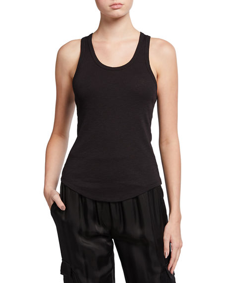 Image 1 of 3: The Upside Frankie Ribbed Tank Top