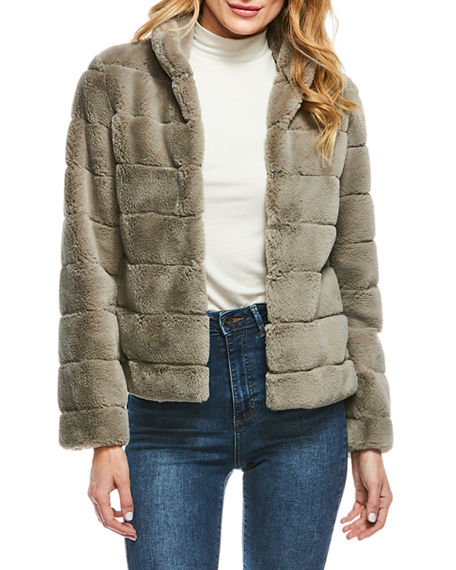 Fabulous Furs Perfect Little Faux-Fur Jacket