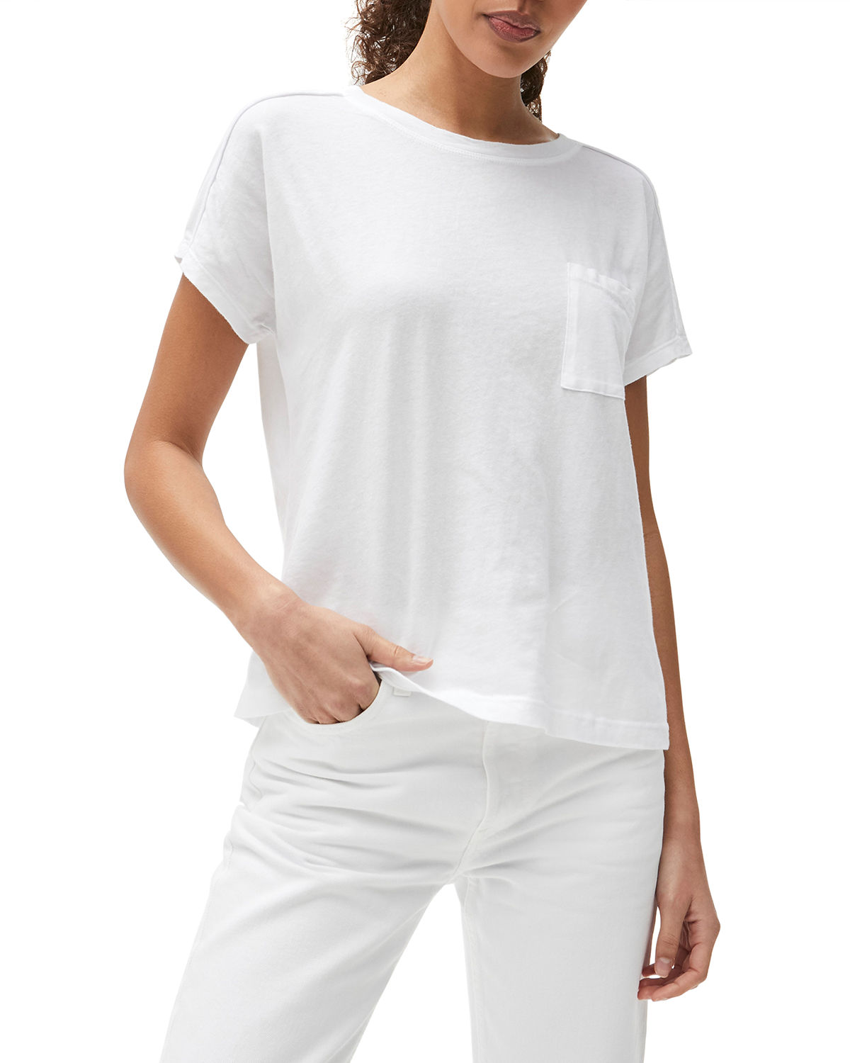 Shiloh Extended Cotton Top