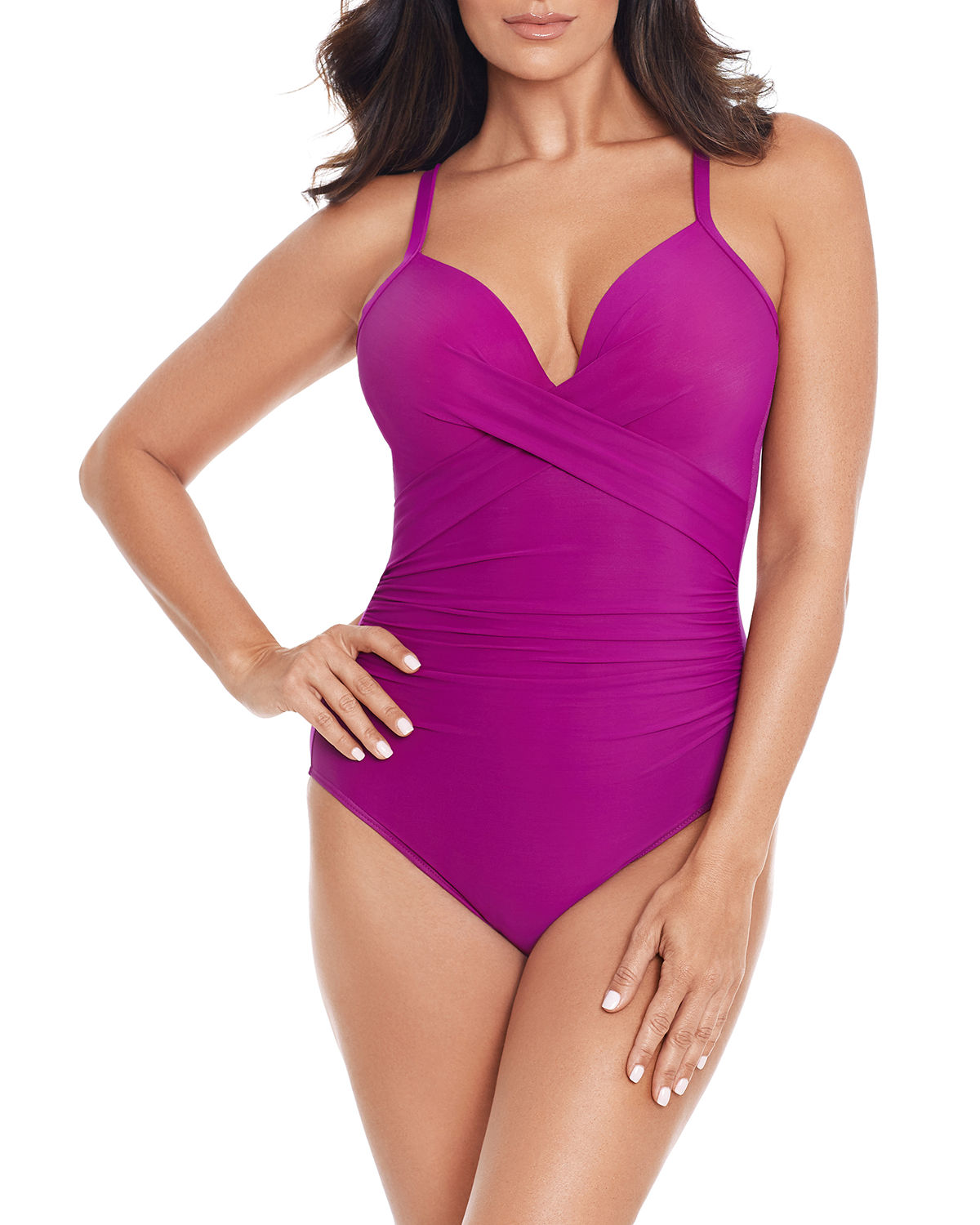 Miraclesuit One-pieces ROCK SOLID CAPTIVATE ONE-PIECE SWIMSUIT
