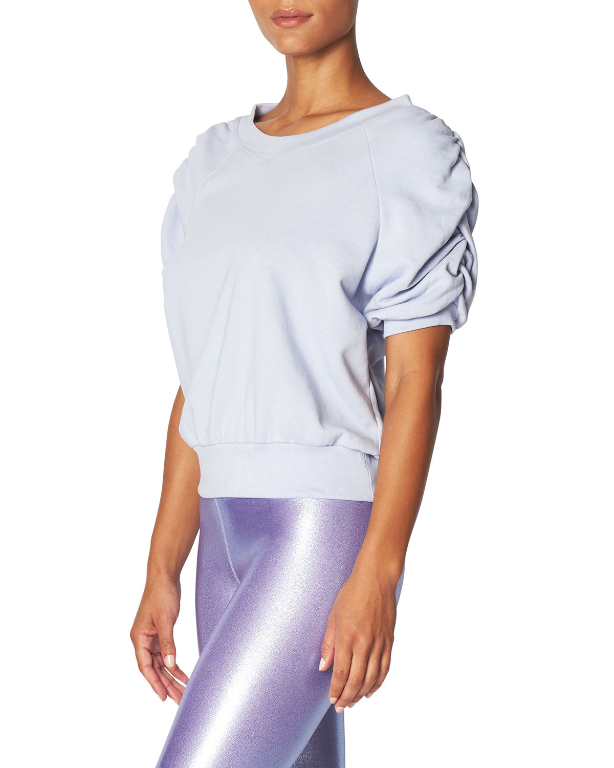 Ruched Sweater Tee