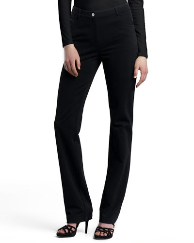 St. John Collection Turtleneck Shell & Marie Pants