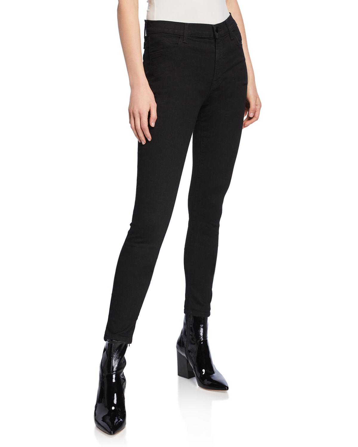 0ce8d78fb5 J Brand Maria Vanity High-Rise Skinny Jeans | Neiman Marcus