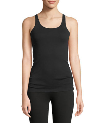 Eileen Fisher Fisherman's Knit Top, Baby Rib Slim
