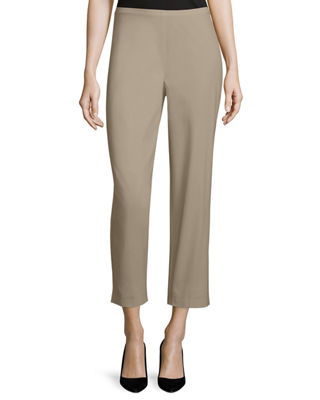 Image 1 of 2: Organic Stretch Twill Slim Ankle Pants