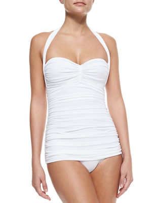 Bill Ruched One-Piece Swimsuit