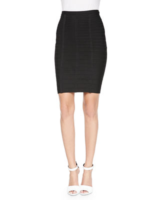 Signature Essential Bandage Skirt