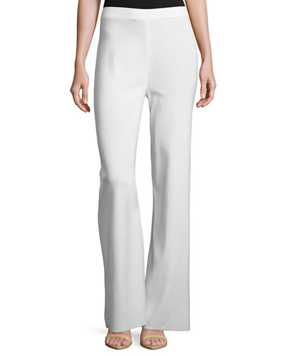 Washable Wide-Leg Pants
