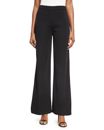 Misook Washable Wide-Leg Pants, Petite