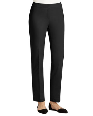 Lafayette 148 New York Crosby Metropolitan Straight-Leg Pants