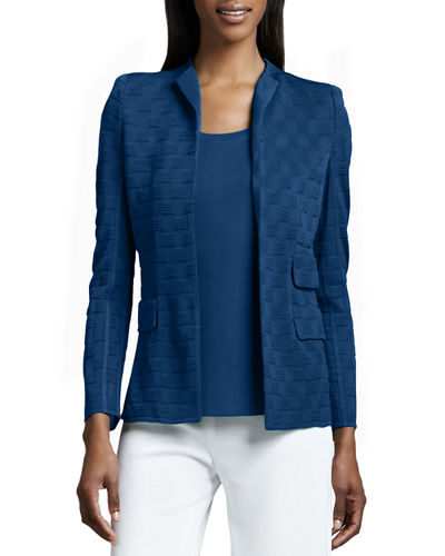 Lilly Textured Jacket, Plus Size
