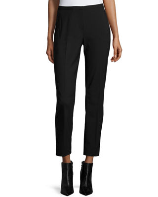 Elie Tahari Jillian Slim Wool Pants