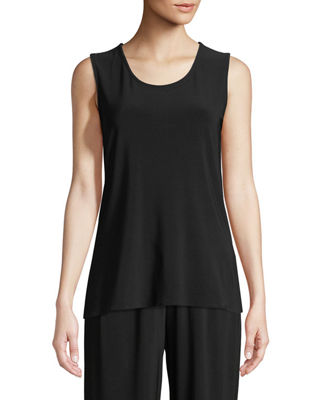 Image 1 of 2: Sleeveless Long Tank