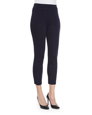 Slim Ankle Pants, Plus Size