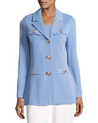 Image 1 of 3: Dressed Up Button-Front Jacket, Plus Size
