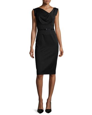 Black Halo Jackie Sheath Dress