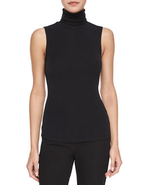 ddc31d8f7a8d7 Cashmere Turtleneck Sweater.  250NOW  125 · Theory Wendel Sleeveless Knit  Top