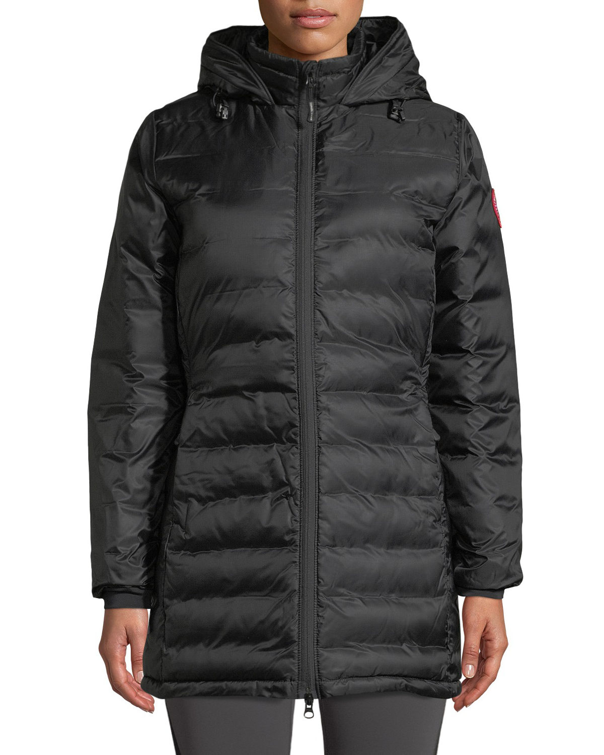 Camp Hooded Mid-Length Puffer Coat