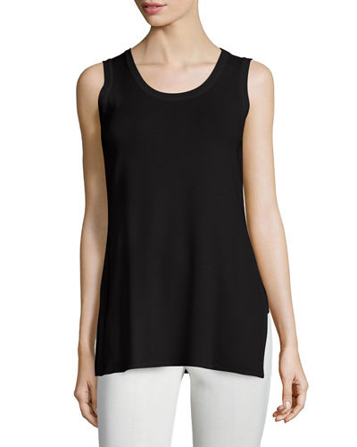 Cathy Crewneck Tank, Plus Size