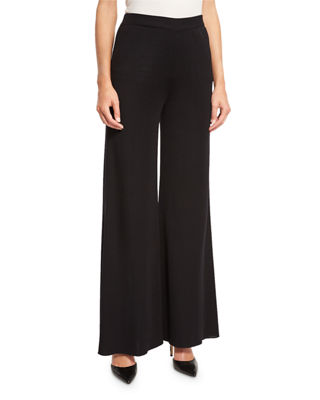 Image 1 of 3: Fit & Knit Palazzo Pants, Plus Size