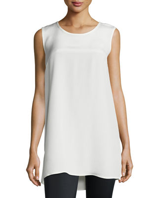 Image 1 of 4: Crepe Tunic/Tank