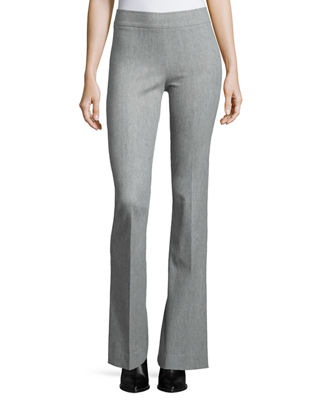 Bellini Stretch Flannel Flared Pants