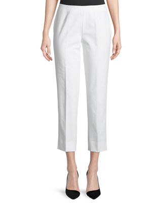 Lafayette 148 New York Metro Stretch Lexington Cropped