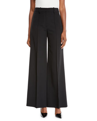 Milly Hayden High-Waist Italian Cady Trousers