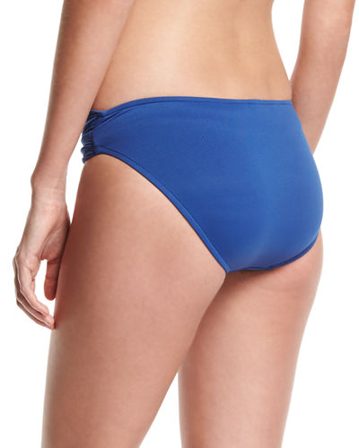 Twist-Band Hipster Swim Bikini Bottom