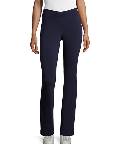 Eileen Fisher Stretch Jersey Yoga Pants, Petite