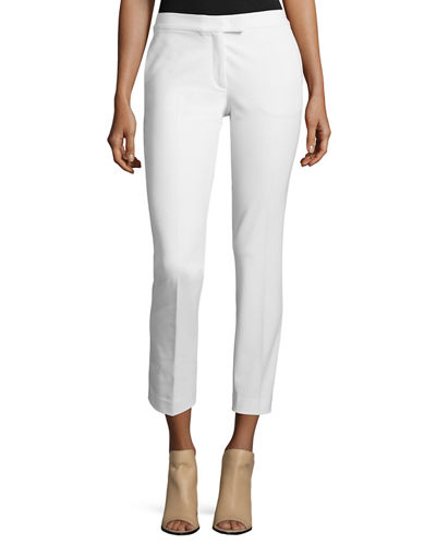 Joseph Finley Slim-Fit Ankle Pants