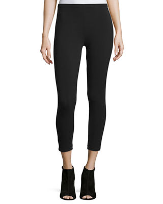 Image 1 of 2: Stretch-Jersey Leggings, Petite