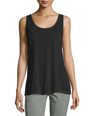 Thin-Strap Supima® Cotton Tank Top, Plus Size