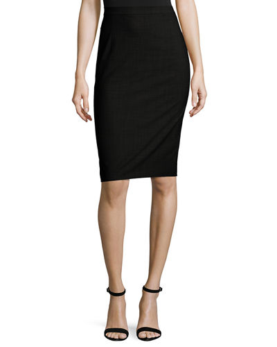 Theory Hemdall B Continuous Pencil Skirt