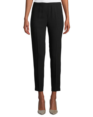 Elie Tahari Marcia Straight-Leg Pants, Black