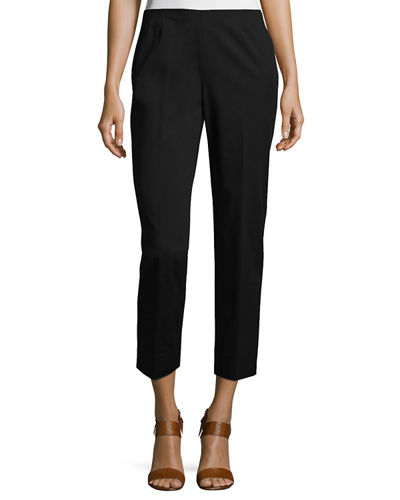 Cropped Bleecker Fundamental Bi-Stretch Pant