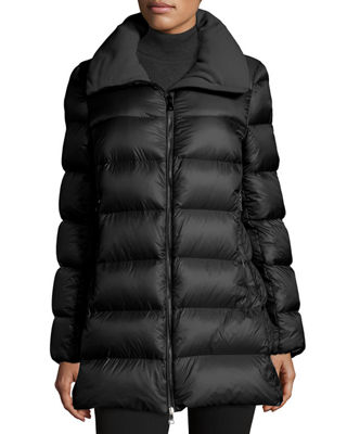Image 1 of 3: Torcyn Quilted Wool-Lined Puffer Coat