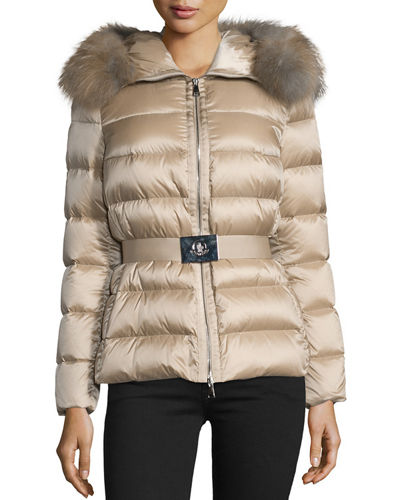 moncler jacket real fur