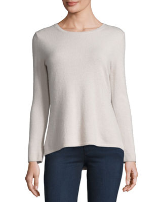 Neiman Marcus Cashmere Collection Modern Cashmere Crewneck