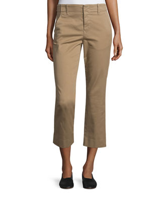 Image 1 of 3: Flat-Front Chino Pants