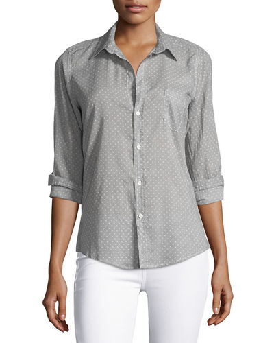 Frank & Eileen Barry Long-Sleeve Voile Shirt