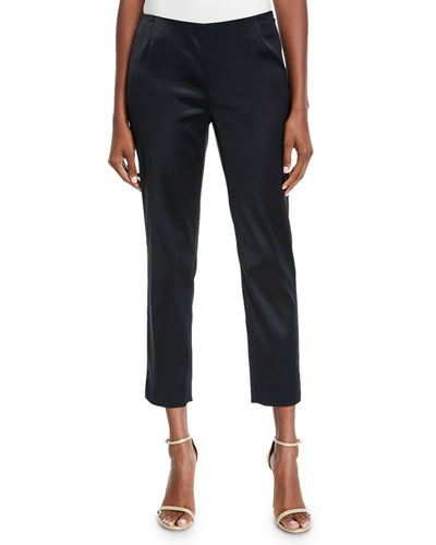 Lafayette 148 New York Belle Satin Stanton PantsGenever