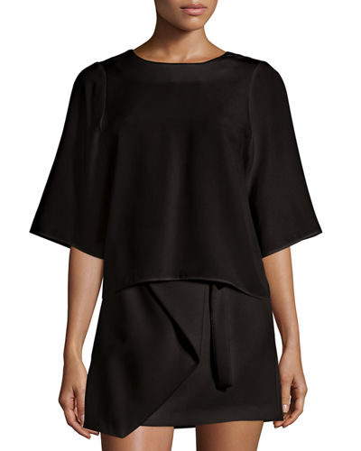 Halston Heritage Top & Skirt