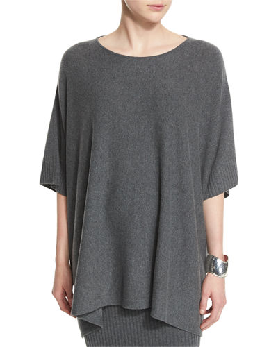 Eileen Fisher Fisher Project Wool Poncho Top, Wool