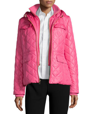 kate spade new york outerwear packable quilted short