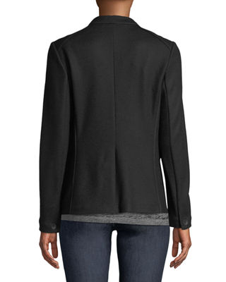 Image 2 of 3: Club Wool One-Button Jacket