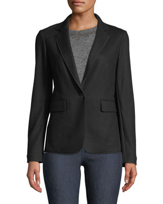 Image 3 of 3: Club Wool One-Button Jacket