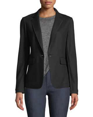Image 1 of 3: Club Wool One-Button Jacket